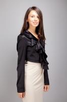 Женская одежда/ жакеты, болеро/ KR-F11/2black (болеро)