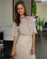 Блуза с вышивкой 2012! Модель 57-11