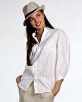 Блуза 2012 ! Женская блуза из льна с вышивкой