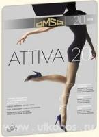 Колготки Omsa Attiva 20 nero 4