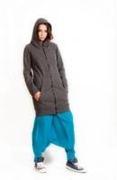 Шерстяная куртка с капюшоном Осенний стиль