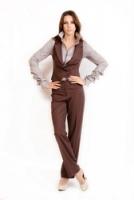 Блузка-рубашка для деловой женщины