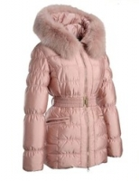Куртка-пуховик цвета пыльной розы