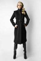 Элегантное черное пальто от Kate Frankfurt