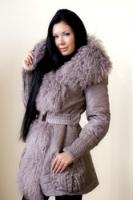 Бежевая куртка из рунной овцы от VM