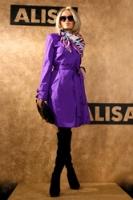 Плащ Фиолетовая роскошь от AlisaFashion
