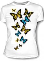 Футболка женская Бабочки