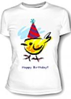 Футболка женская Happy Birthday
