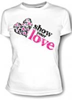Футболка женская Show your Love